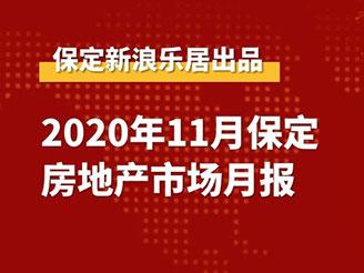 2020年11月保定房地产市场月报