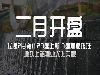 长沙2月预计29盘上新